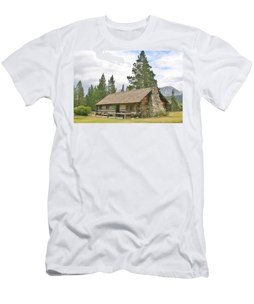 Men's T-Shirt (Slim Fit) featuring the photograph Homesteaded by Marilyn Diaz