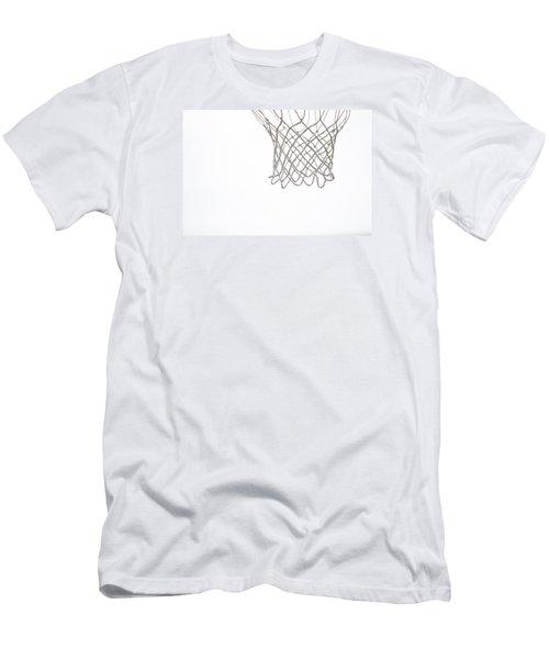 Hoops Men's T-Shirt (Slim Fit) by Karol Livote