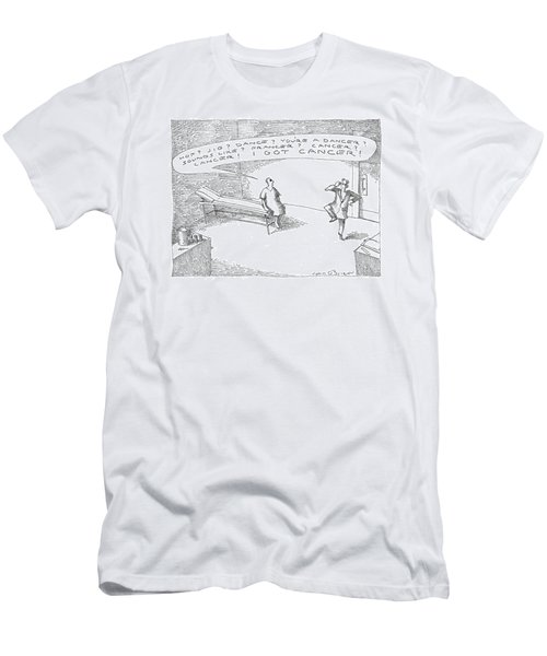 'hop? Jig? Dance? You're A Dancer? Sounds Like? Men's T-Shirt (Athletic Fit)