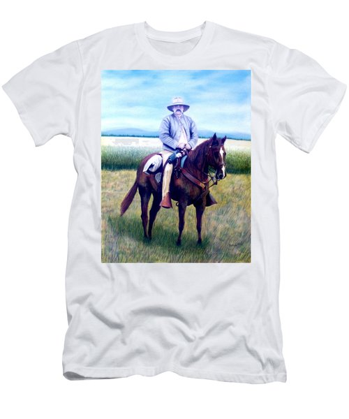 Horse And Rider Men's T-Shirt (Athletic Fit)