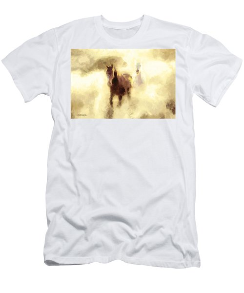 Horses Of The Mist Men's T-Shirt (Athletic Fit)