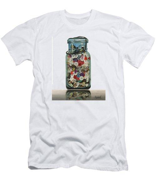 Hot Buttons Men's T-Shirt (Athletic Fit)