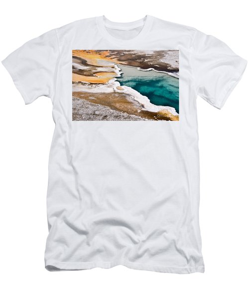 Hot Spring  Men's T-Shirt (Athletic Fit)