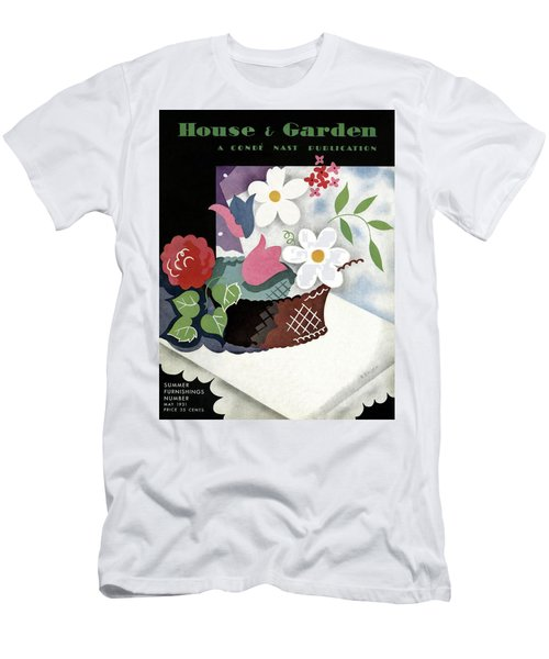 House And Garden Summer Furnishings Number Cover Men's T-Shirt (Athletic Fit)