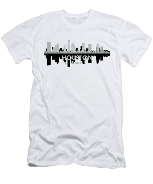 Houston Tx 4 Men's T-Shirt (Slim Fit) by Angelina Vick