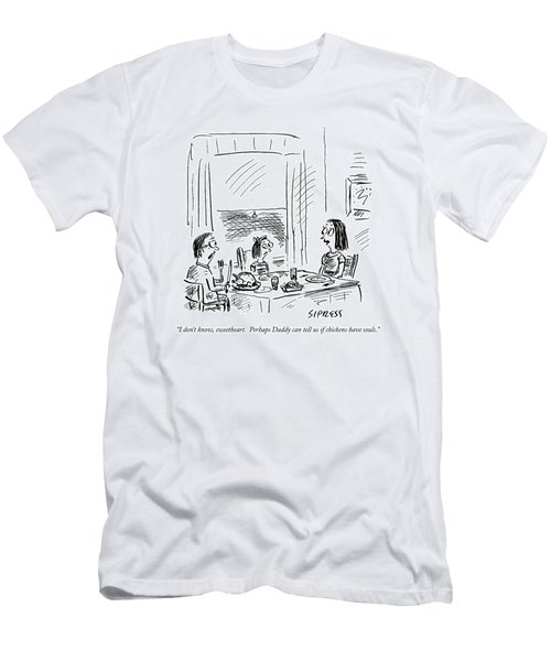 I Don't Know Men's T-Shirt (Athletic Fit)