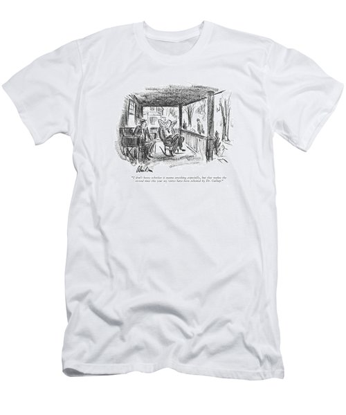 I Don't Know Whether It Means Anything Especially Men's T-Shirt (Athletic Fit)