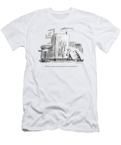I Have A Couple Of Other Projects I'm Excited Men's T-Shirt (Athletic Fit)