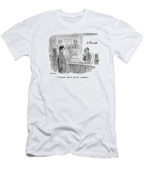 I Haven't Read Men's T-Shirt (Athletic Fit)