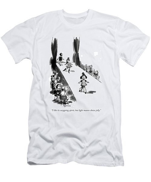 I Like Its Easygoing Spirit Men's T-Shirt (Athletic Fit)