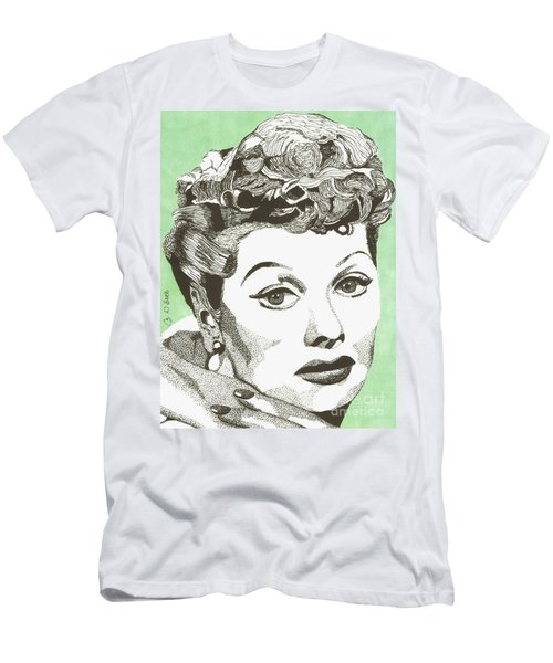 I Love Lucy Men's T-Shirt (Athletic Fit)