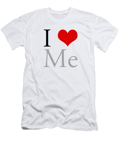 I Love Me Men's T-Shirt (Athletic Fit)
