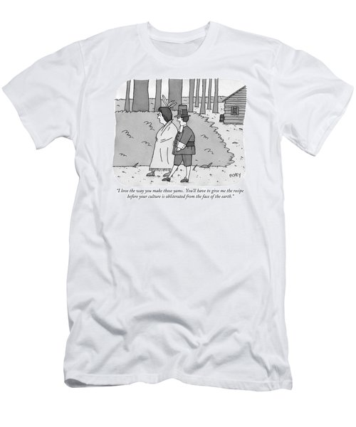 I Love The Way You Make Those Yams.  You'll Men's T-Shirt (Athletic Fit)
