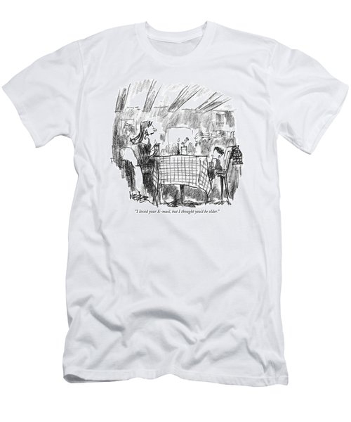 I Loved Your E-mail Men's T-Shirt (Athletic Fit)