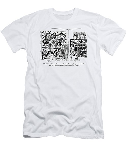 I Said The National Endowment For The Arts Men's T-Shirt (Athletic Fit)