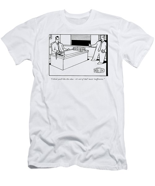 I Think You'll Like This Idea - It's Sort Men's T-Shirt (Athletic Fit)