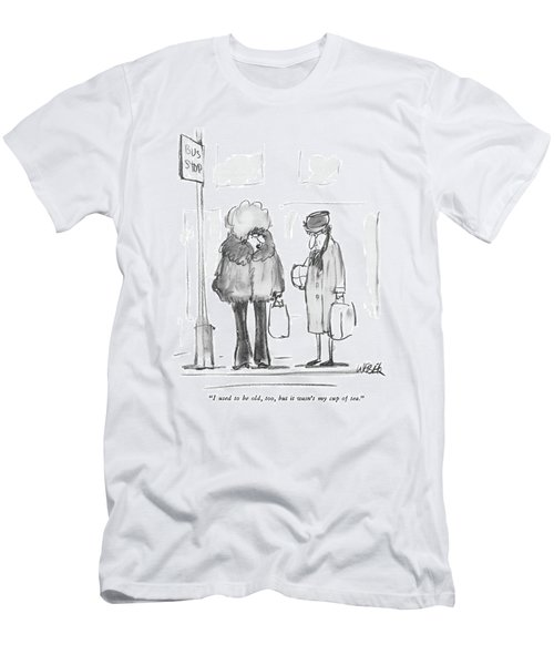 I Used To Be Old Men's T-Shirt (Athletic Fit)