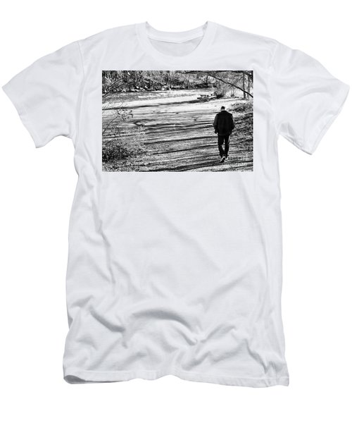I Walk Alone Men's T-Shirt (Athletic Fit)