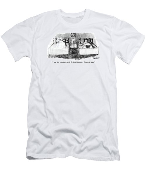 I Was Just Thinking Men's T-Shirt (Athletic Fit)