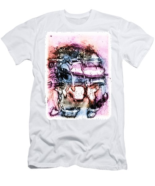 Ice Number Three Men's T-Shirt (Slim Fit) by Bob Orsillo