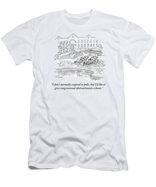 I'd Like To Give Congressional Obstructionists Men's T-Shirt (Athletic Fit)