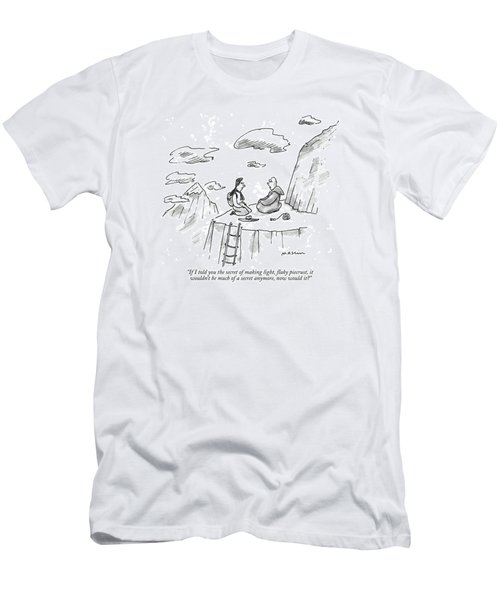 If I Told You The Secret Of Making Light Men's T-Shirt (Athletic Fit)