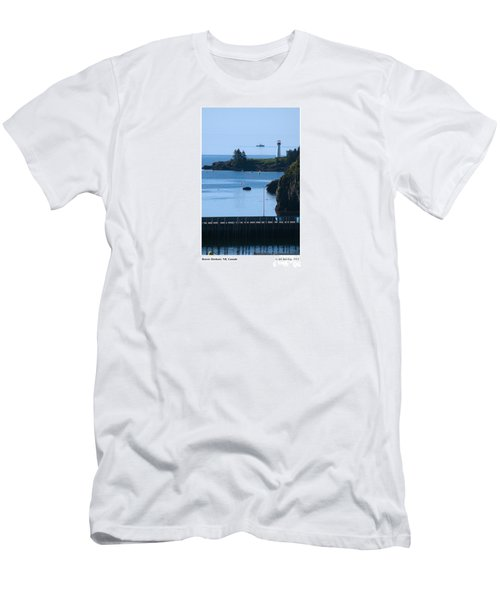 Illusion At Beaver Harbour Light Men's T-Shirt (Athletic Fit)