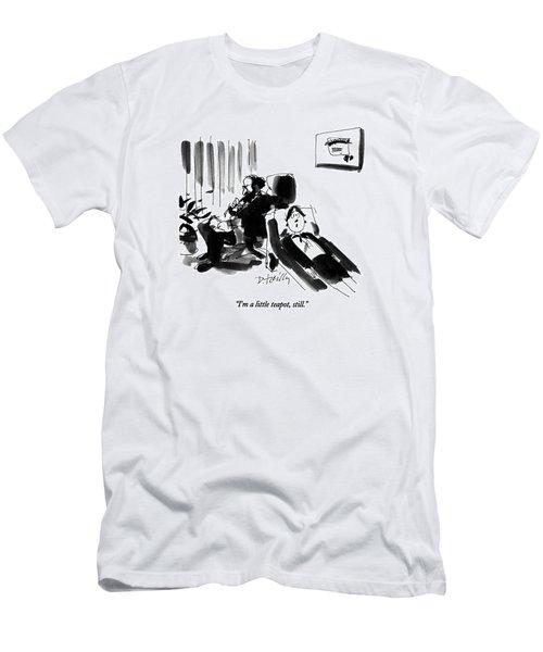 I'm A Little Teapot Men's T-Shirt (Athletic Fit)