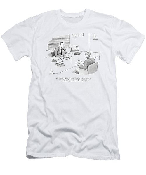 I'm Certain I Speak For The Entire Legal Men's T-Shirt (Athletic Fit)