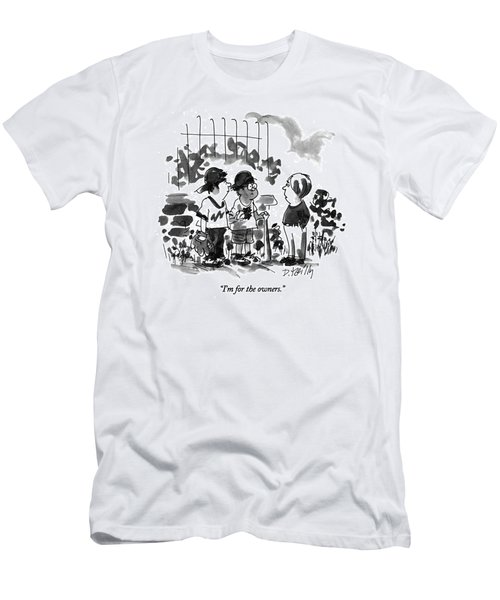 I'm For The Owners Men's T-Shirt (Athletic Fit)