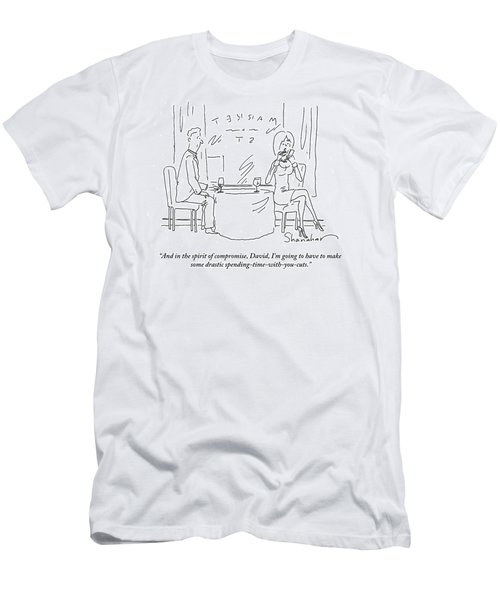 I'm Going To Have To Make Some Drastic Spending Men's T-Shirt (Athletic Fit)
