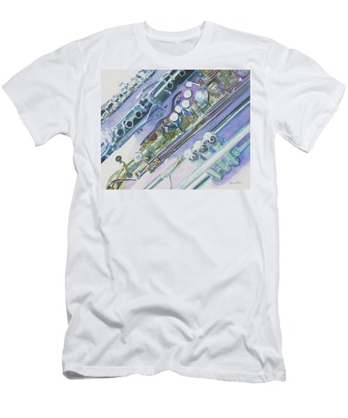 I'm Still Painting On The Keys Men's T-Shirt (Athletic Fit)