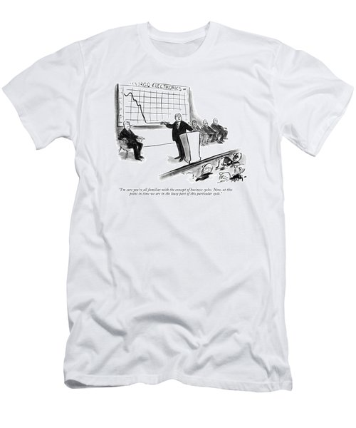 I'm Sure You're All Familiar With The Concept Men's T-Shirt (Athletic Fit)