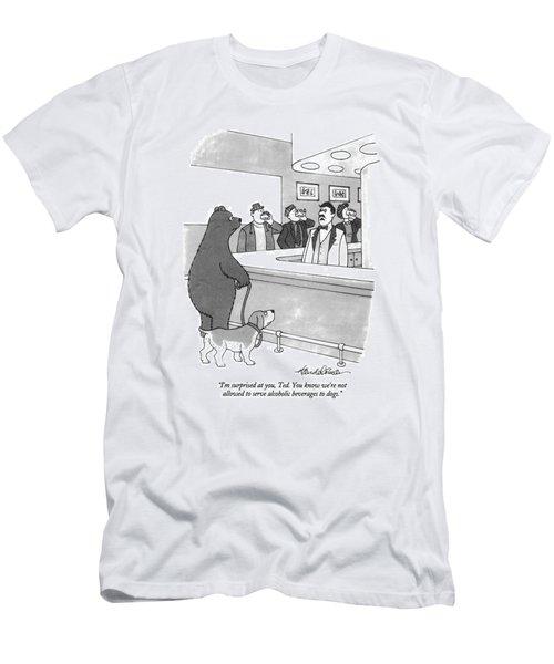 I'm Surprised Men's T-Shirt (Athletic Fit)