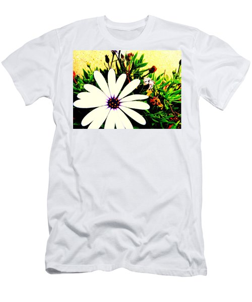 Men's T-Shirt (Slim Fit) featuring the photograph Imagination Growing by Faith Williams