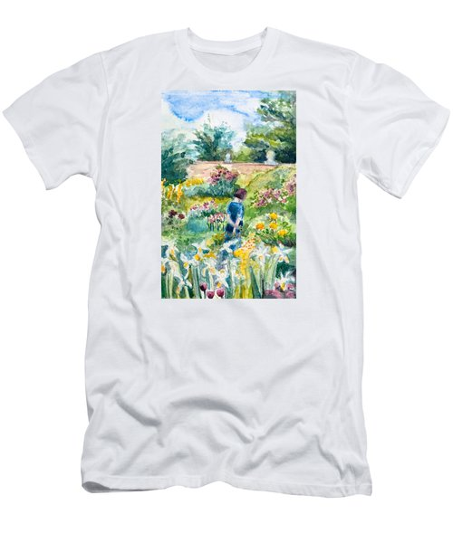 In An English Cottage Garden Men's T-Shirt (Athletic Fit)