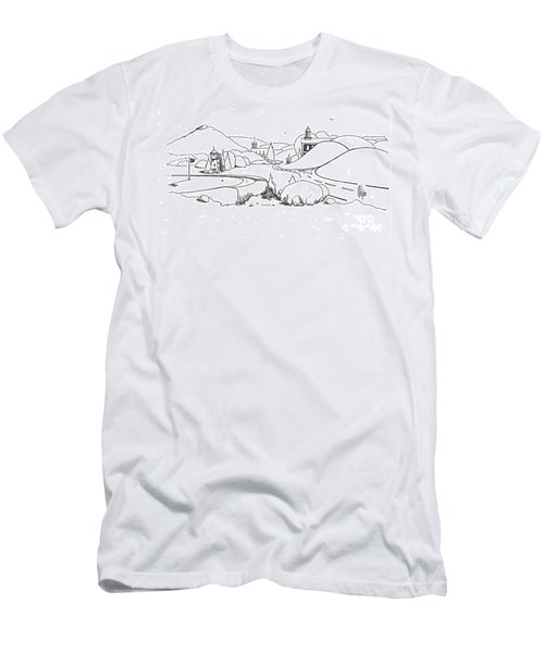 In The Land Of Brigadoon  Men's T-Shirt (Athletic Fit)
