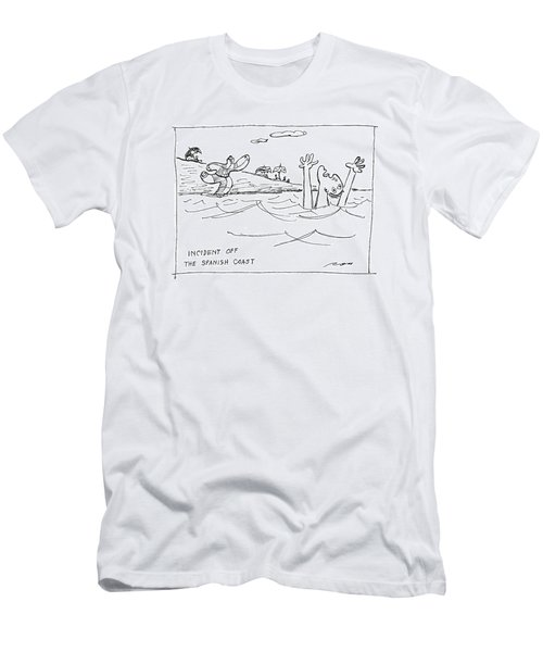 Incident Off The Spanish Coast Men's T-Shirt (Athletic Fit)