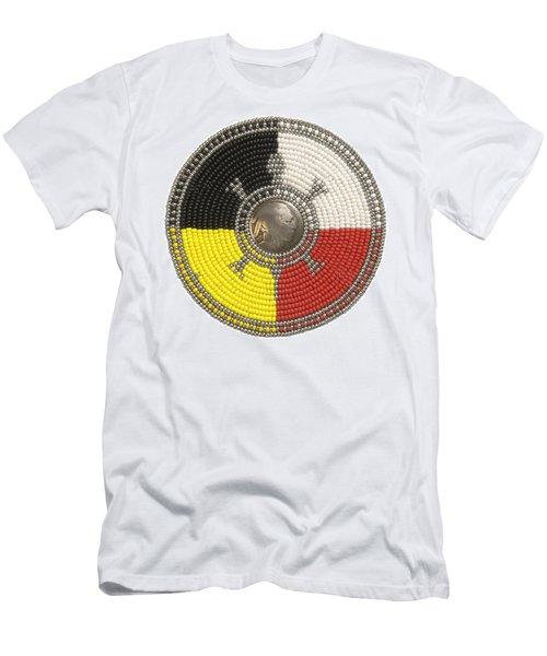 Indian Head Turtle Men's T-Shirt (Athletic Fit)