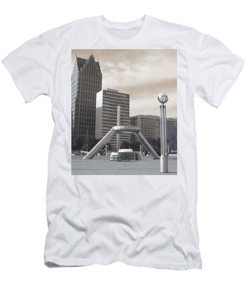 Inner Void Of Hard Plaza Phase 2 Men's T-Shirt (Athletic Fit)