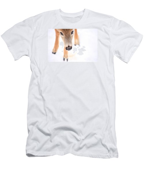 Innocent Eyes Men's T-Shirt (Slim Fit) by Karol Livote