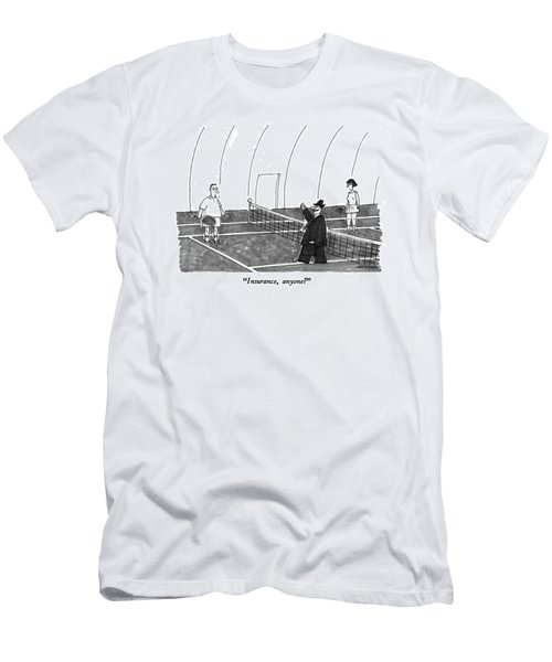 Insurance, Anyone? Men's T-Shirt (Athletic Fit)