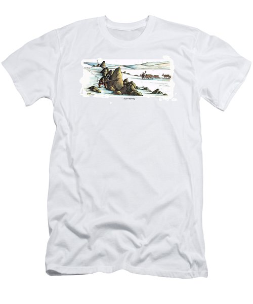 Inuit Waiting Men's T-Shirt (Athletic Fit)