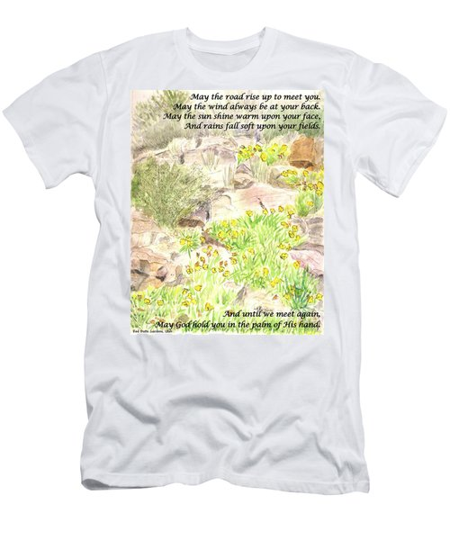 Irish Blessing Men's T-Shirt (Athletic Fit)