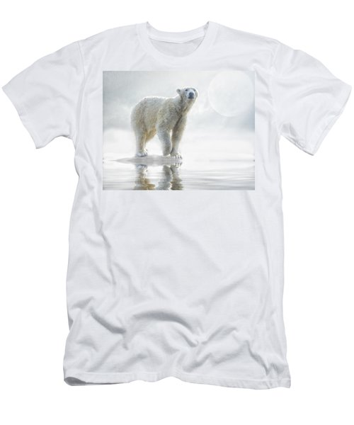 Is Anyone Out There? Men's T-Shirt (Slim Fit) by Brian Tarr