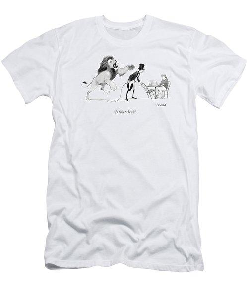 Is This Taken? Men's T-Shirt (Athletic Fit)