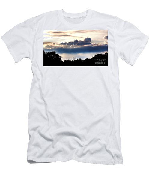 Island Of Clouds Men's T-Shirt (Athletic Fit)