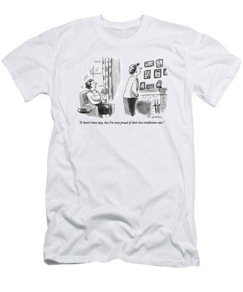 It Hasn't Been Easy Men's T-Shirt (Athletic Fit)
