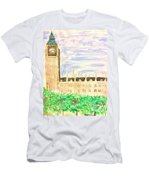 It Went By In A Blur Men's T-Shirt (Athletic Fit)