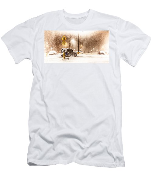 It's A Jeep Thing Men's T-Shirt (Slim Fit) by Sennie Pierson